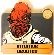 Star Wars - Zodiac Mystery Collection - Admiral Ackbar Chaser ONLY