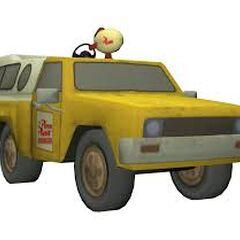 Wygląd ciężarówki Pizza Planet w <i>Disney Infinity</i>