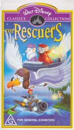 The Rescuers (2001 Australian VHS) Original Edition
