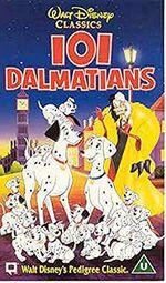 101 Dalmations (1996 UK VHS)