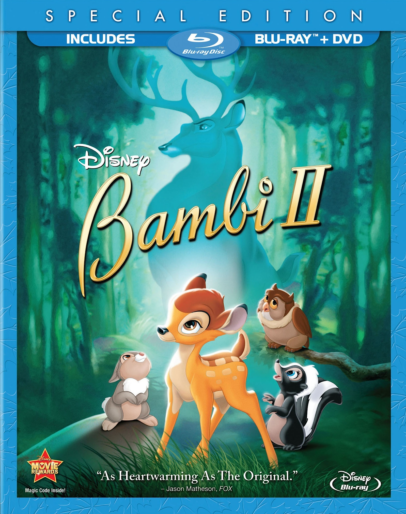Bambi is born