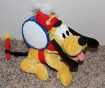 Disney Band Leader Drummer Boy 9 Pluto Dog Plush Doll