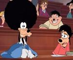Goofy peluca afro