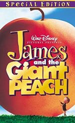 James and the Giant Peach 2000 VHS