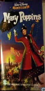 Mary Poppins 1998 Dutch VHS English Version