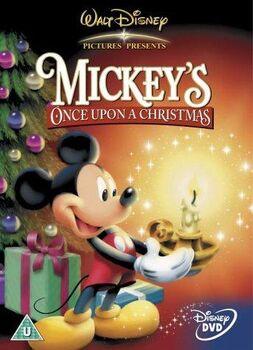 Mickey's once upon a Christmas uk dvd