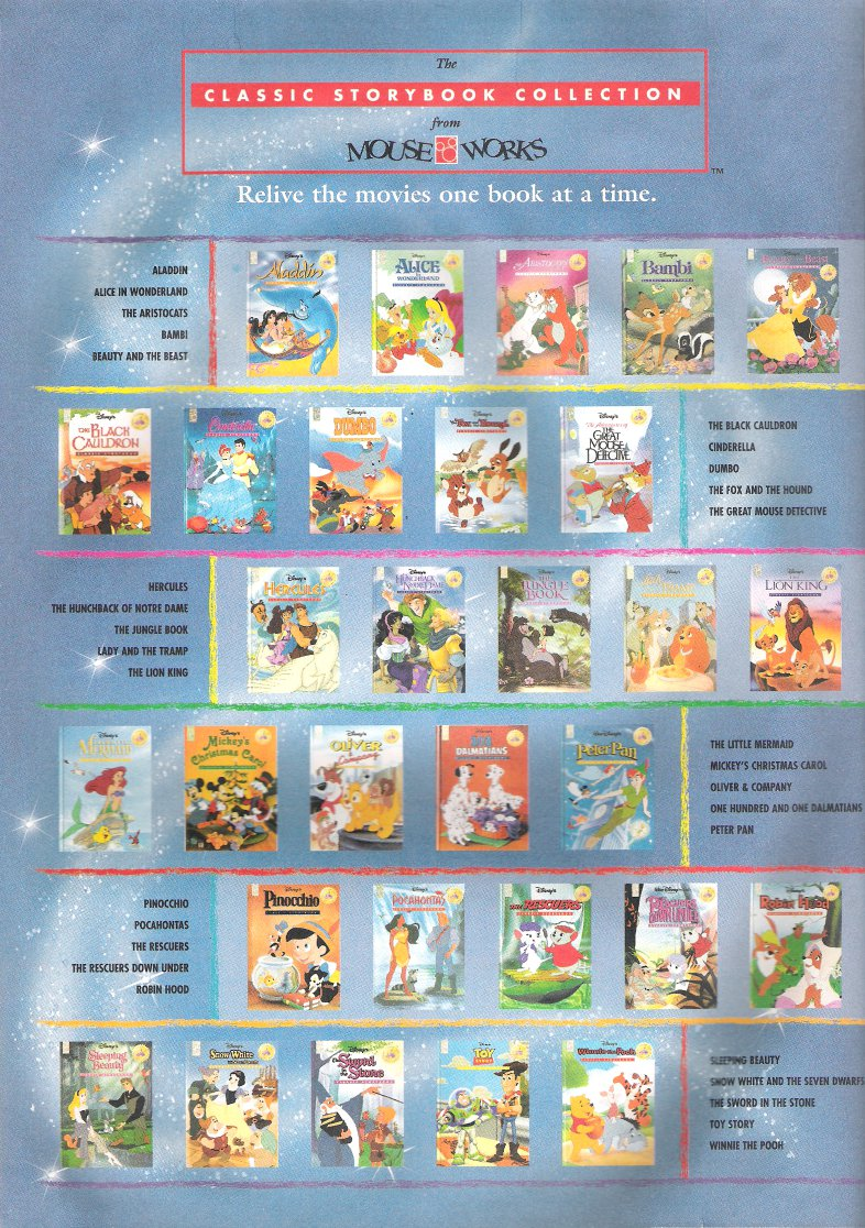 mouseworks storybook collection - Disney Christmas Storybook Collection