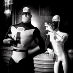 Mr. Incredible & Frozone