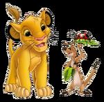 Simba And Timon