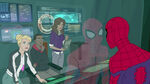 Spider-Man - 3x01 - Web of Venom - Gwen Stacy, Miles Morales, Anya Corazon and Spider-Man