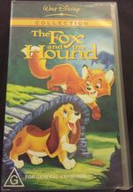 The Fox and the Hound 2003 AUS VHS