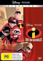 The Incredibles 2010 AUS DVD