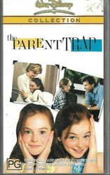 The Parent Trap Remake 2003 AUS VHS