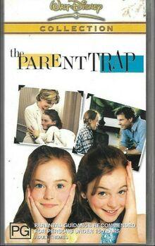 The Parent Trap Remake 2003 AUS VHS