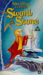 The Sword In The Stone (1992-1995 UK VHS)