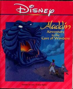 Aladdin Adventures in the Cave of Wonders Disney Read Along
