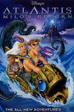 Atlantis Milo's Return DVD Cover