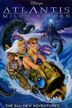 Atlantis Milo's Return DVD Cover