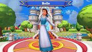 Belle Disney Magic Kingdoms Welcome Screen