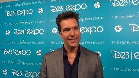 Dane Cook Talks DisneyToon Studios PLANES & PLANES Fire & Rescue at D23 Expo - Red Carpet Interview