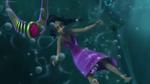 Elena drowning