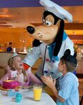 Goofy in Goofy's kitchen