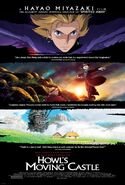 Howls Moving Castle Poster
