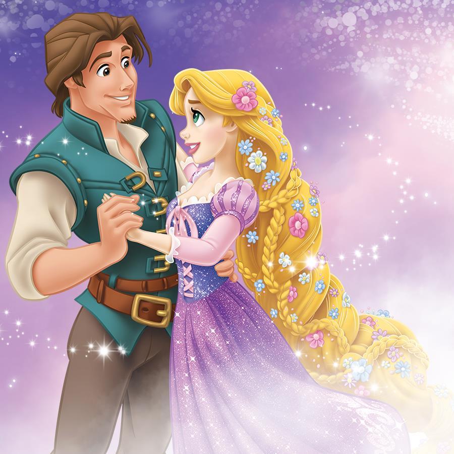 Rapunzel And Flynn Promational Art