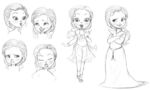 Sofia the First expression sheet