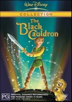 The Black Cauldron 2003 AUS DVD