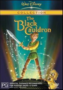 The Black Cauldron 2003 AUS DVD