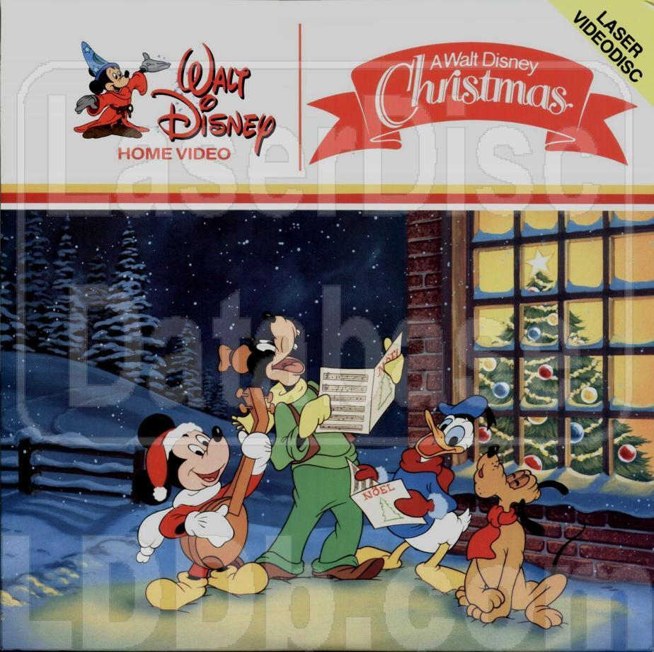 a walt disney christmas laserdiscjpg - A Walt Disney Christmas Dvd