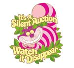 Cheshire Cat Pin from D23 Expo Silent Auction Saturday