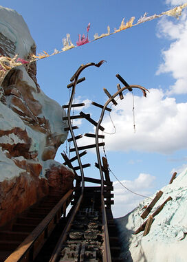 Expedition Everest cracked railways