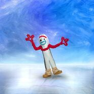 Forky on Ice