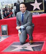 Lin-Manuel Miranda Walk of Fame