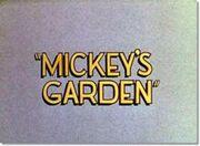 MICKEY'SGARDEN