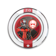 Marvel team up ant-man Disc
