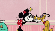 Minnie and Pluto (Doggone Biscuits) 1