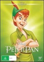 Peter Pan 2016 AUS DVD