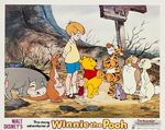 The Many Adventures of Winnie the Pooh Lobby Movie Poster