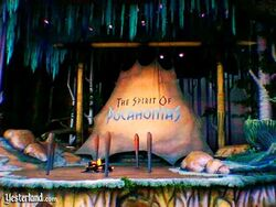 The Spirit of Pocahontas Disneyland