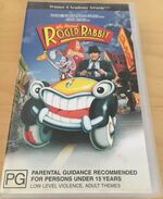 Who Framed Roger Rabbit 2003 AUS VHS