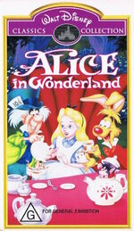 Alice in Wonderland Australia VHS Masterpiece