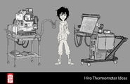 Big Hero 6 The Series props - Hiro's Thermometer