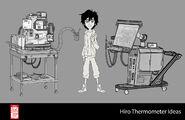 Big Hero 6 The Series props - Hiro's Thermometer