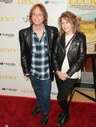 Bill Mumy & wife Eileen Lucky premieire