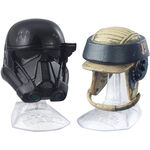 Death Trooper And Rebel Commando Helmets Black Series