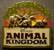 Disney's Animal Kingdom (Raised Animals Under The Tree Of Life)