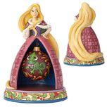 Disney Traditions tangled rapunzel Christmas Tidings of Wonder Statue